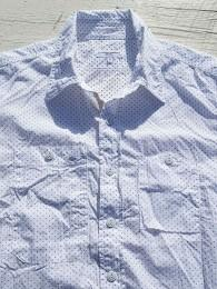 Work Shirt (Mini Polka Dot Lawn)