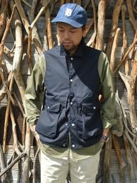Plant Hunter Vest (Weeds Poplin)