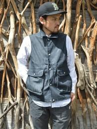 Plant Hunter Vest (8oz Denim)