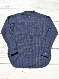 Banded Collar Shirt (Small Check)