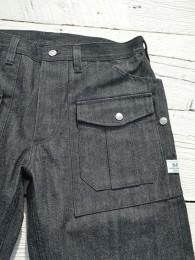 "Botanical Scout R Pants (14oz Denim) ""Black"""