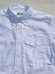 【ENGINEERED GARMENTS WORKADAY】 BD Shirt (Oxford)
