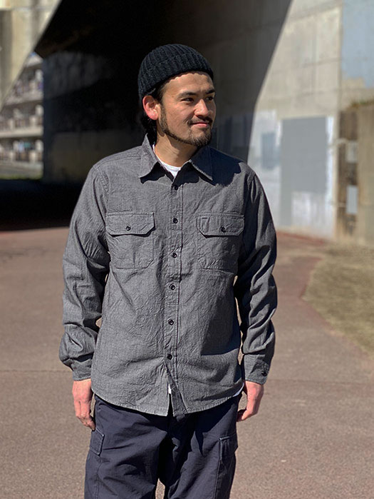 L/S Chambray Work Shirt