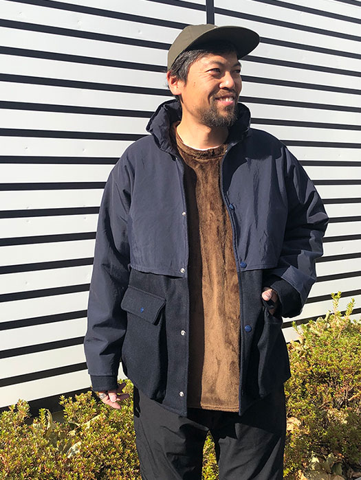 Plants Cruiser Jacket (Wool Melton×60/40)